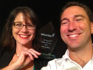 Anne - VIC Securitor Adviser of the Year Award